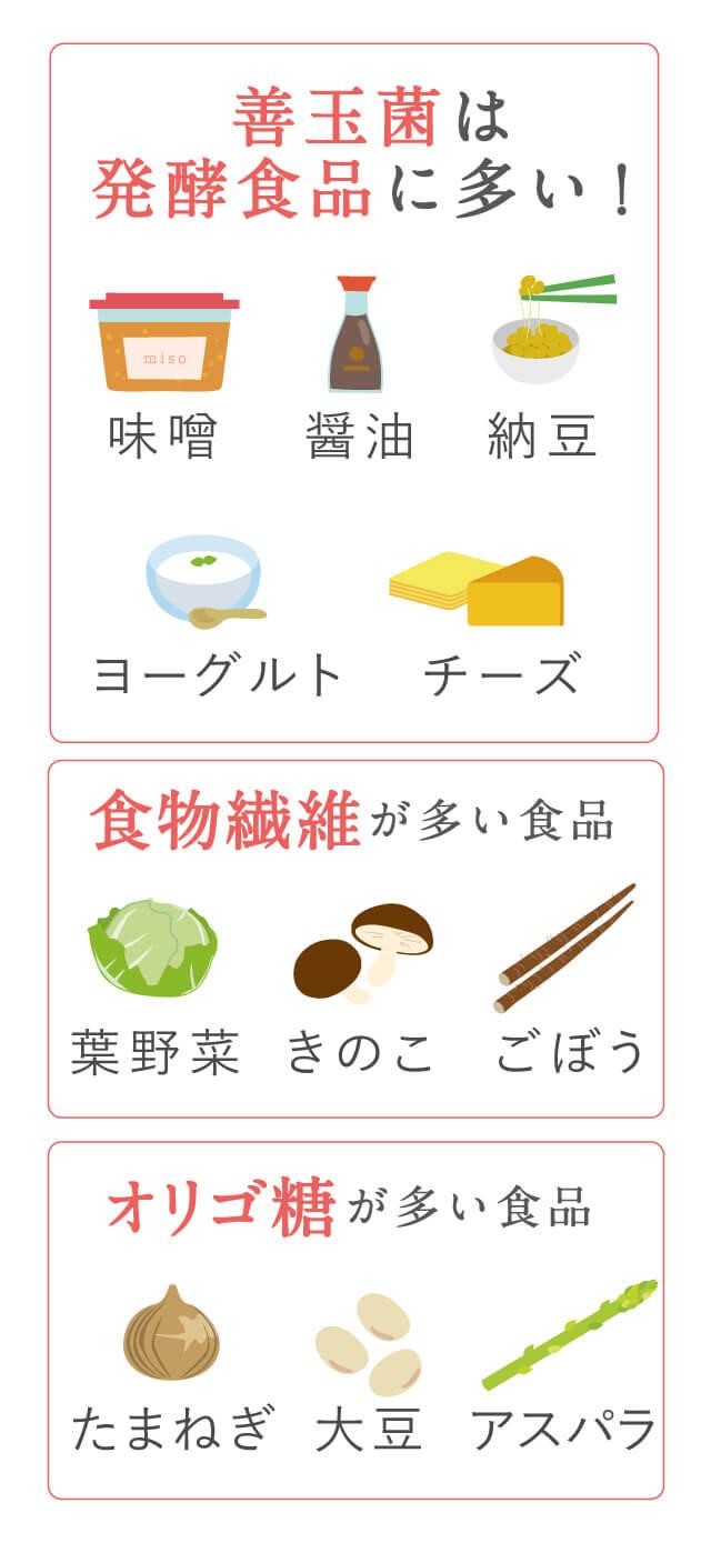 菌 増やす 善玉 善玉菌を増やす食べ物とは?この5つの食べ物が免疫力を高める!